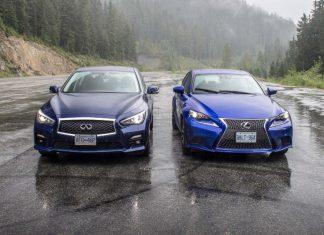 Infiniti Q50 vs Lexus IS