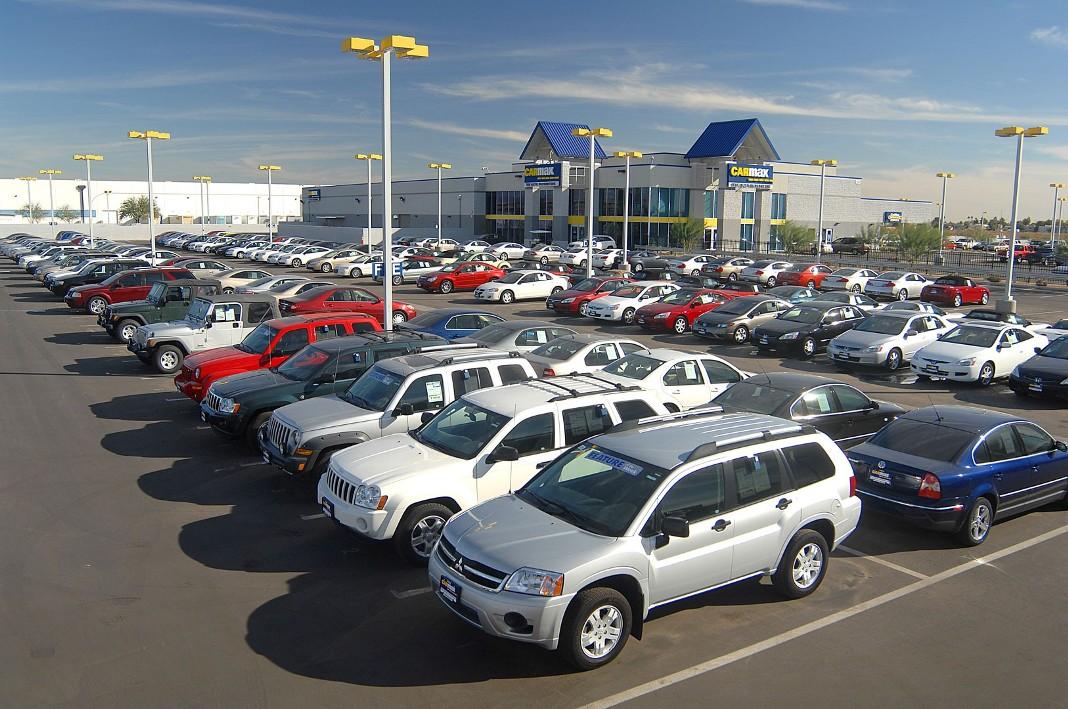Подержанные автомобили, США