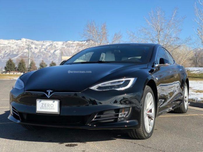 Armored Tesla Model S P100D