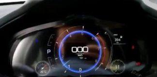 Цифровая приборная панель Mazda3