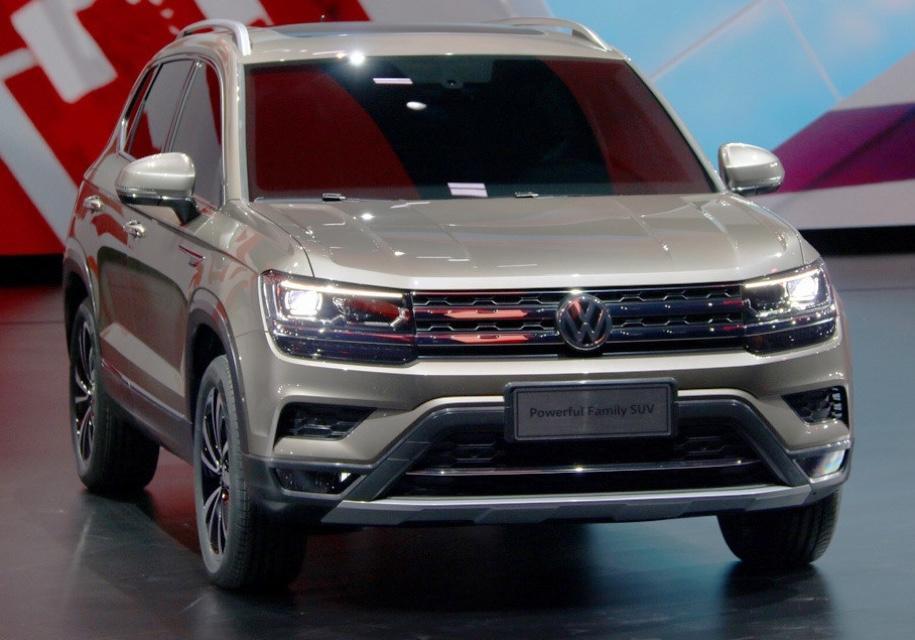 Новый кроссовер Volkswagen