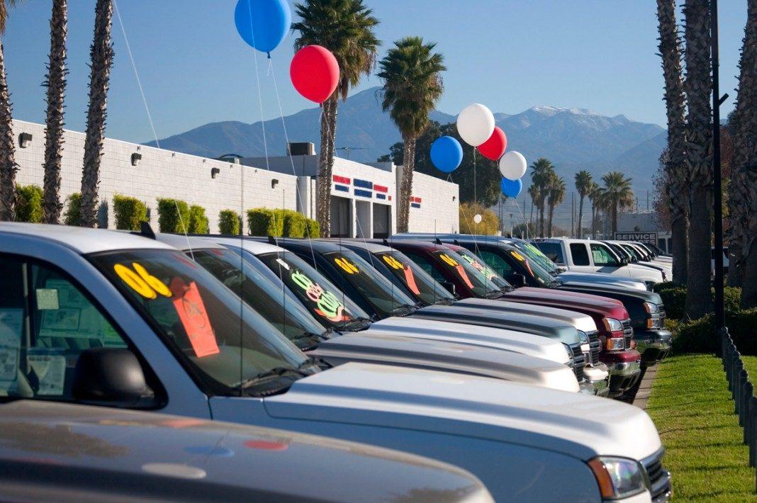 Подержанные автомобили в США