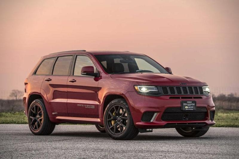 Jeep Grand Cherokee Trackhawk Hennessey Performance