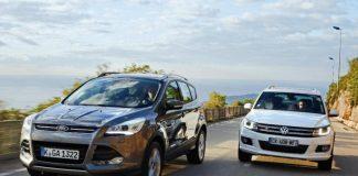 Ford Kuga vs Volkswagen Tiguan