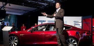 Илон Маск, глава Tesla