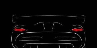 Тизер суперкара Koenigsegg