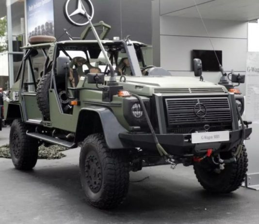 Mercedes G-Wagon MRV