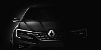 Тизер нового кроссовера Renault