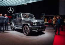 Mercedes G-Class 2018