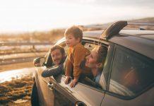 Подержанный семейный автомобиль