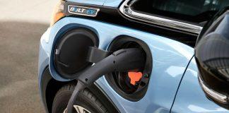 Зарядка электромобиля